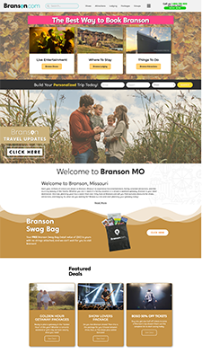 branson site screen shot